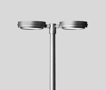 Pole-top luminaire 9122/9227/9141/... by BEGA | Path lights