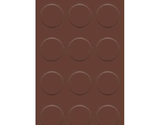 BS Classic M 104 Choco 2 by Artigo | Natural-rubber flooring