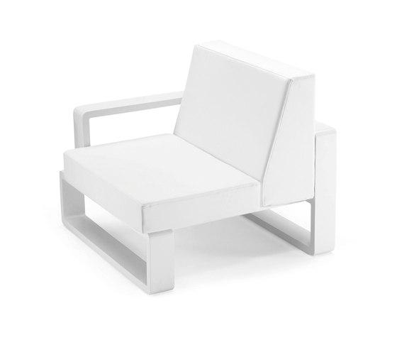 Kama | Right Club Armchair by EGO Paris | Armchairs