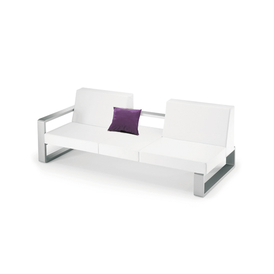 Kama | Dyvan With Right Armrest by EGO Paris | Sofas