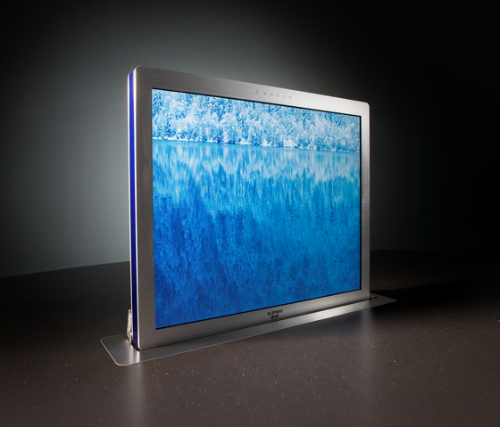 Convers 190 by ELEMENT ONE | Table integrated displays
