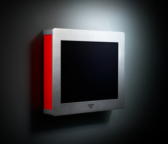Signis 121-2 ALU on-wall LAN by ELEMENT ONE | Wall mounted displays