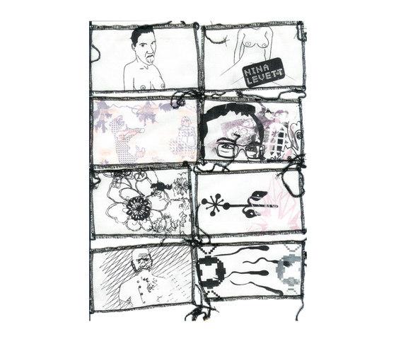textile de Nina Levett | Tissus de décoration