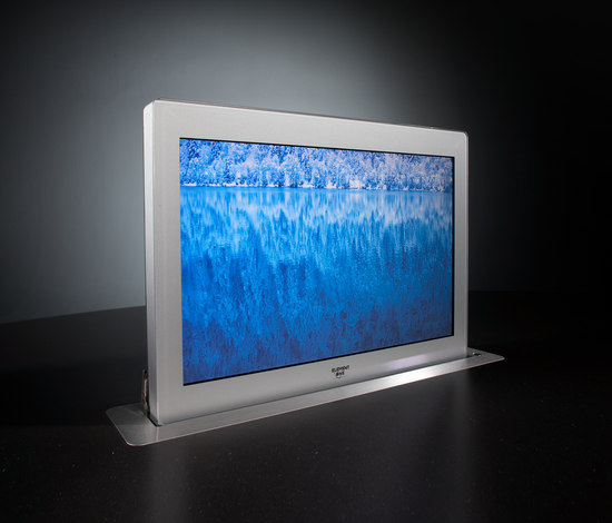 Convers 170 wide screen by ELEMENT ONE | Table integrated displays