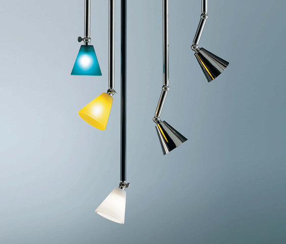 Hopper Stark Rigid stem light by STENG LICHT | Suspended lights