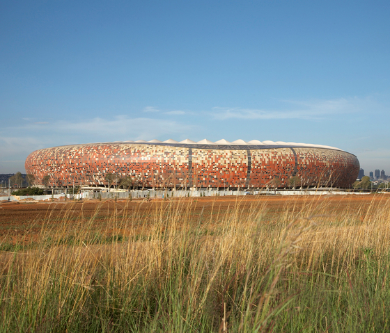 Soccer City Stadion by Rieder | Facade systems