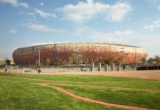 Soccer City Stadion by Rieder | Facade design