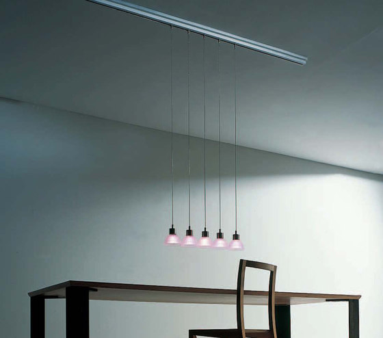 Longline Mec Track system by STENG LICHT | Low voltage track lighting