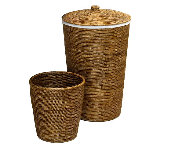 BASKET UTB_RD by DECOR WALTHER | Waste baskets