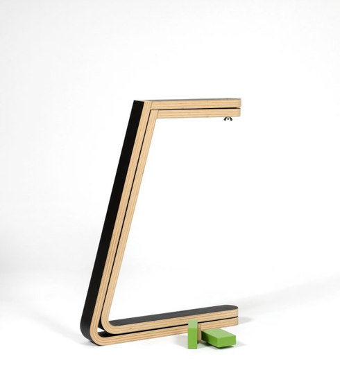 Twin C Supports by Green Furniture Concept | Trestles
