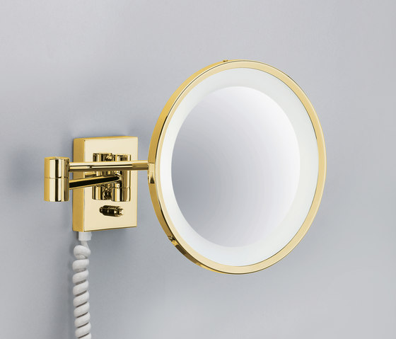 BS 40 PL gold by DECOR WALTHER | Shaving mirrors