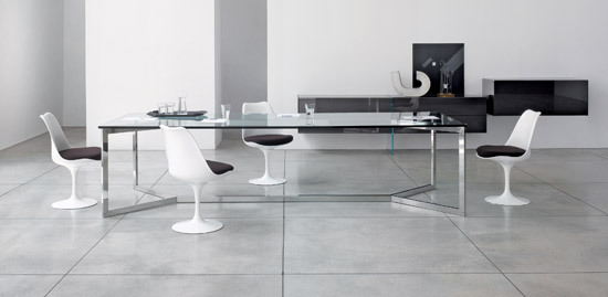Carlomagno Extralarge by Gallotti&Radice | Dining tables
