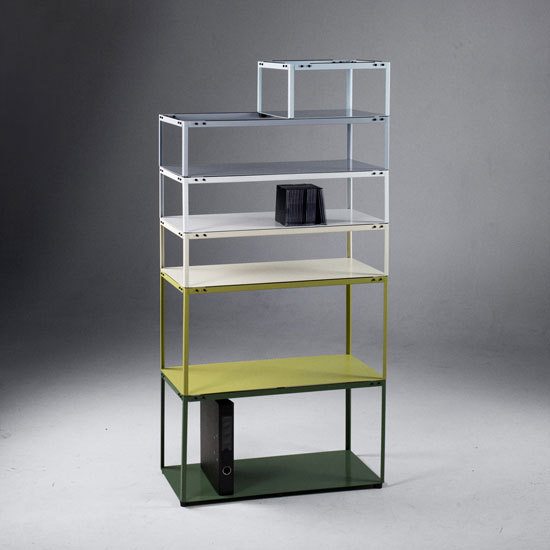 Crate Shelf [prototype] by Martin Born | Office shelving systems