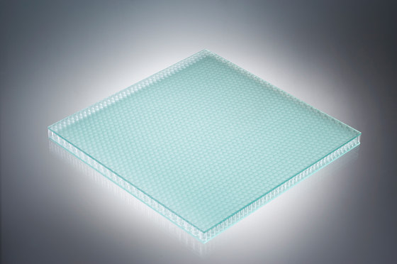 AIR-board® UV satin | glass green by Design Composite | Synthetic panels