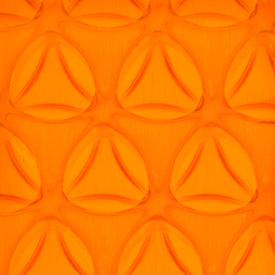 Clear-PEP® UV PC color orange von Design Composite | Kunststoff Platten