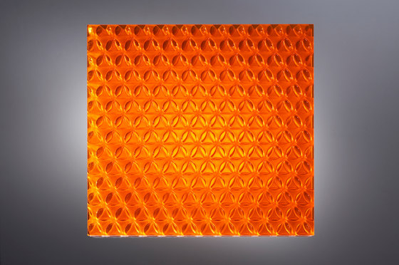 clear-PEP® UV PC color orange by Design Composite | Synthetic panels