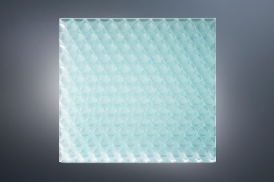 clear-PEP® UV satin glass green by Design Composite | Synthetic panels