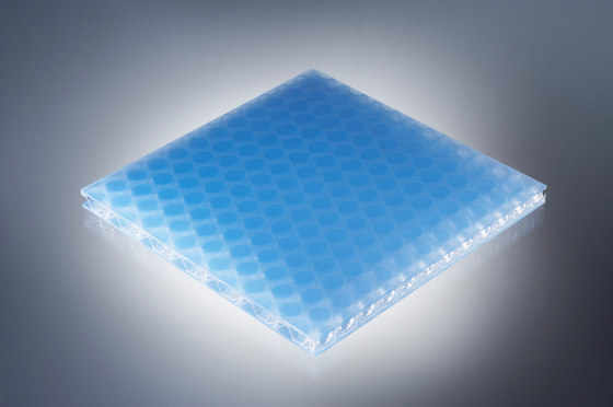 clear-PEP® UV satin ice blue by Design Composite   Synthetic panels