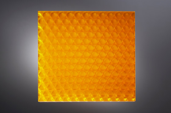 clear-PEP® UV satin orange by Design Composite | Synthetic panels