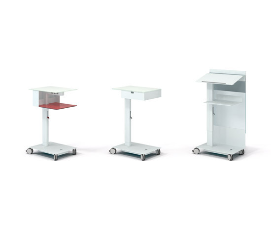 Mobile Elements by Steelcase | Multimedia trolleys