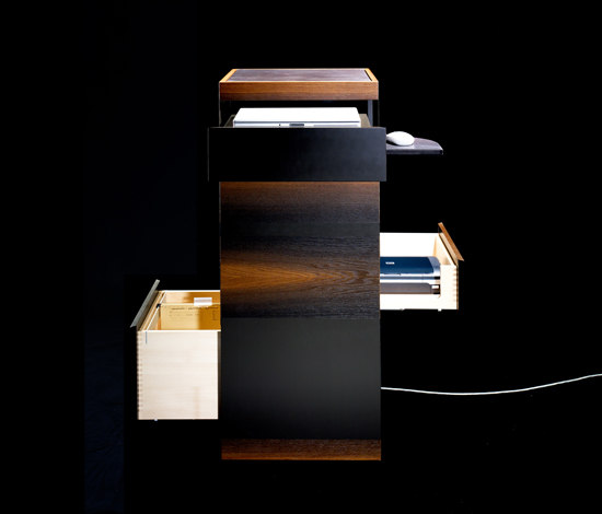Laptop Tower LT FP.1 by Sarah Maier | Cabinets