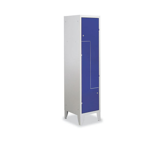 Combi | 2 L doors locker by Dieffebi | Lockers