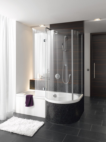 BetteCora Ronda Swing II Shower Screen de Bette | Mamparas para duchas