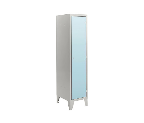 HPL | 1 door locker with partition by Dieffebi | Lockers