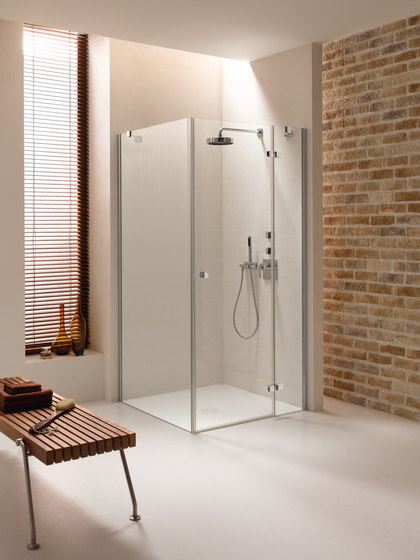 BetteShower Enclosure Corner Installation di Bette | Divisori doccia