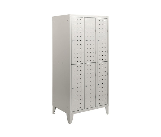 Multiplus Design | 2 Tiers 6 doors locker H1800 by Dieffebi | Lockers