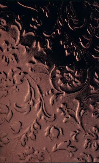 Floral Aubergine by SIBU DESIGN | Wood panels