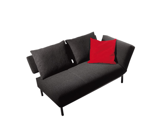 Twinset Couch by die Collection | Sofa beds
