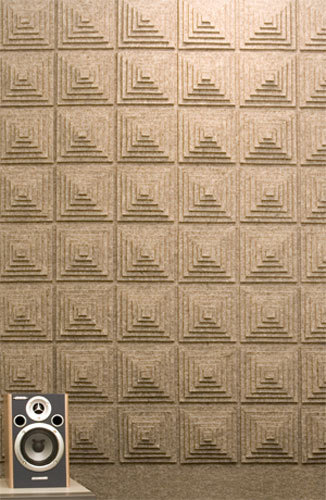 Felt wall covering by FELT Studio | Wall panels