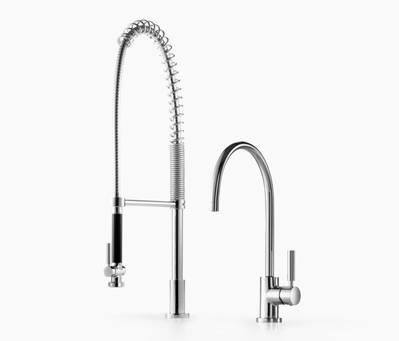 Tara Classic - Single-lever mixer with profi spray set by Dornbracht | Kitchen taps