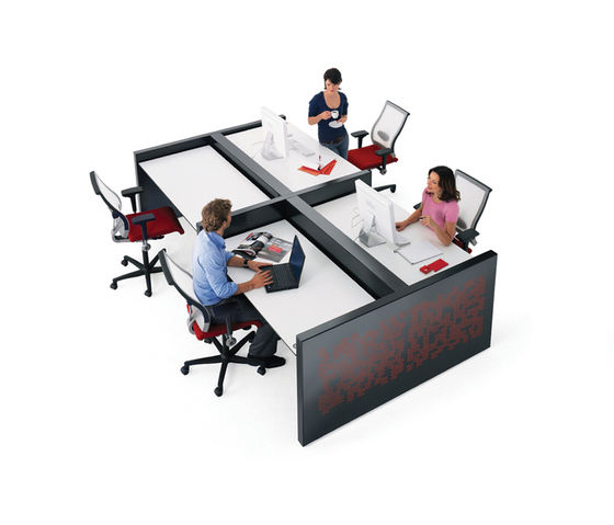 Ahrend 750 bench by Ahrend | Desking systems