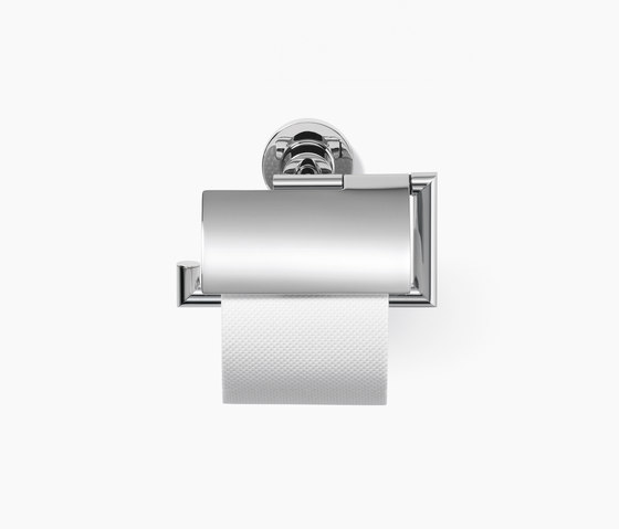 Tara. - Tissue holder with cover by Dornbracht | Paper roll holders