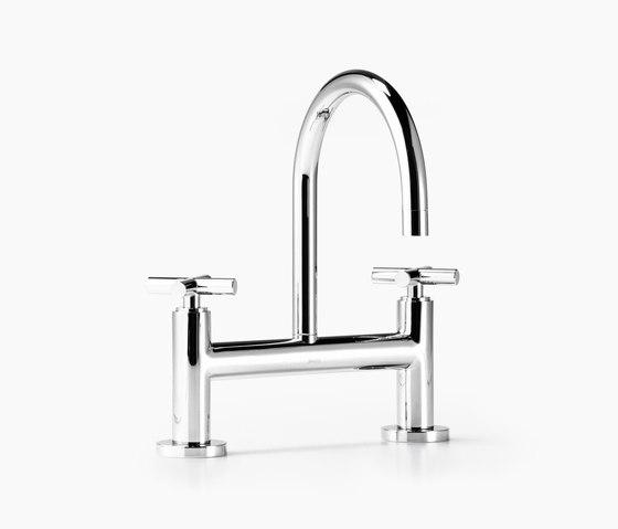 Tara. - Two-hole basin bridge mixer by Dornbracht | Wash basin taps