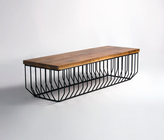 Wired Bench di Phase Design | Panche attesa