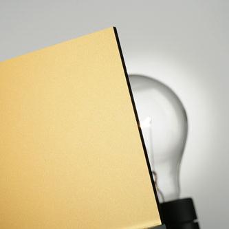 PLEXIGLAS® Sterling Gold 2M802 C2 von Evonik Röhm | Kunststoff Platten