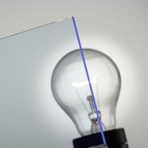 PLEXIGLAS® Fluorescent Blau 5C50 GT von Evonik Röhm | Kunststoffplatten/-paneele