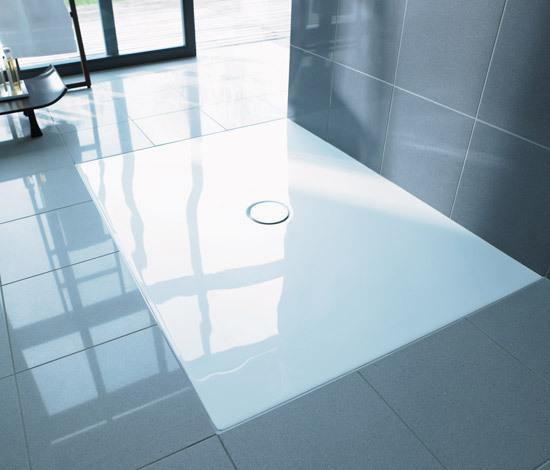 Flush fitting showertrays by DURAVIT | Shower trays