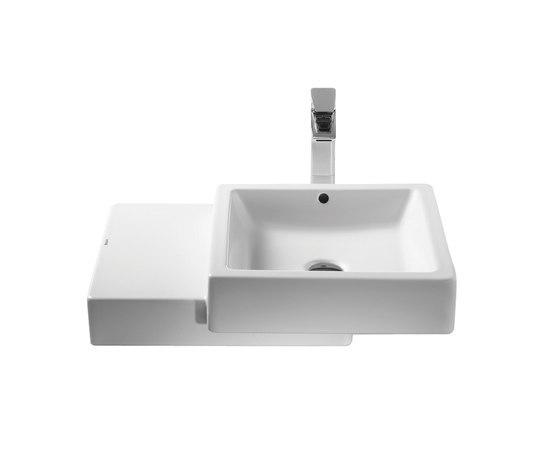 Com countertop basin by ROCA | Wash basins