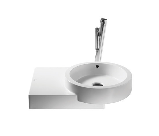 Post countertop basin by ROCA | Wash basins