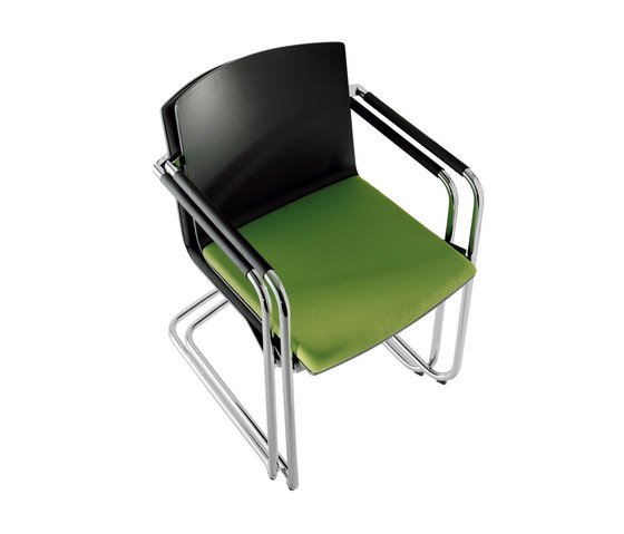 Neos 183/3 by Wilkhahn | Visitors chairs / Side chairs