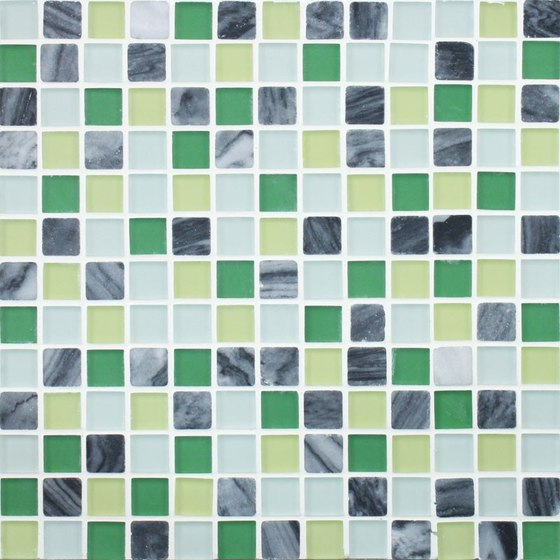 Glacier Mountain G0412 Forest Creek by Giorbello | Glass mosaics