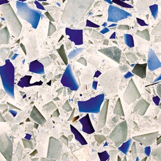Vetrazzo® Chivalry Blue di Vetrazzo® | Piani cucina in vetro