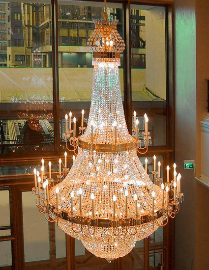 Ritz Carlton Berlin - 18419A by Kalmar | Chandeliers