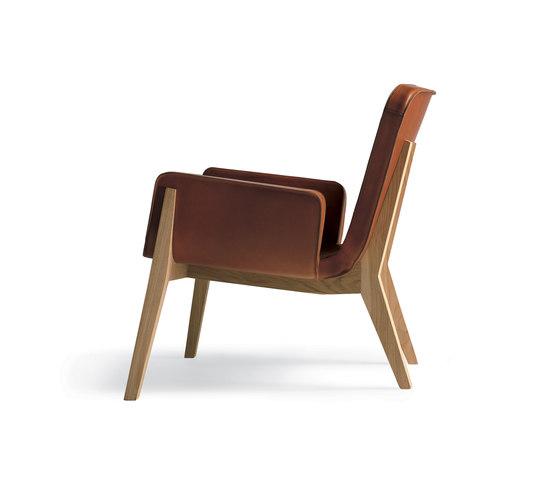 Jockey by Poltrona Frau | Lounge chairs