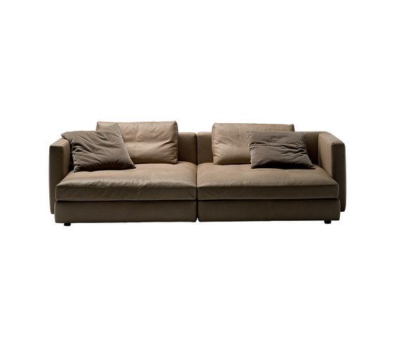 Massimosistema by Poltrona Frau | Reclining sofas