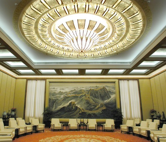Great Hall of the People Beijing - 18457 by Kalmar | Chandeliers